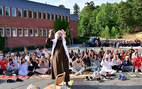 İsveç'te kuraklık nedeniyle Müslümanlar yağmur duasına çıktı