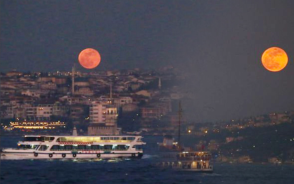 2018 Kanlı ay tutulması İstanbul'da nerede izlenir