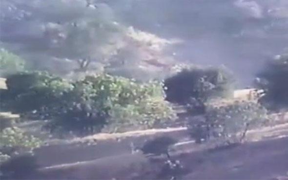Şırnak'ta kaçmaya çalışan iki terörist böyle vuruldu!