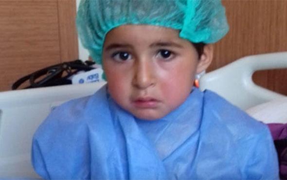 3 yaşındaki Kübra'nın ameliyat sonrası dünyası karardı!