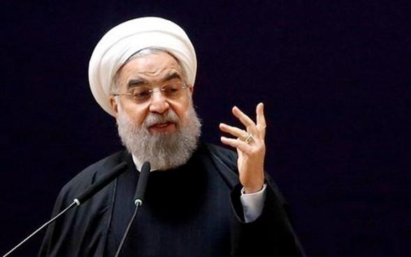 Ruhani'den ABD'ye 'petrol' tehdidi