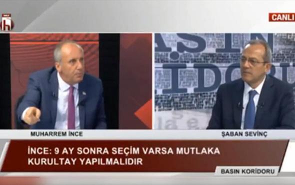 CHP'li İnce'den flaş kurultay açıklaması