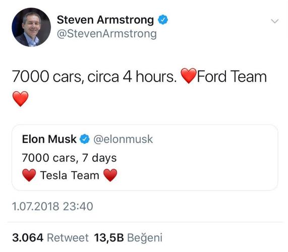 Ford'un CEO'su Elon Musk'la dalga geçti! - Sayfa 3
