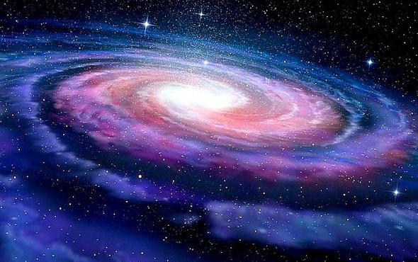 Samanyolu'nun bir ucundan diğerine ışık hızıyla 200 bin yılda gidilebilir