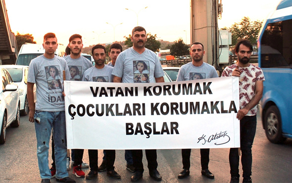 İstanbul'dan Ankara'ya idam için yürüyorlar