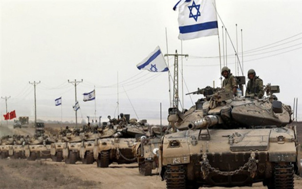 İsrail Suriye hedefini vurdu!