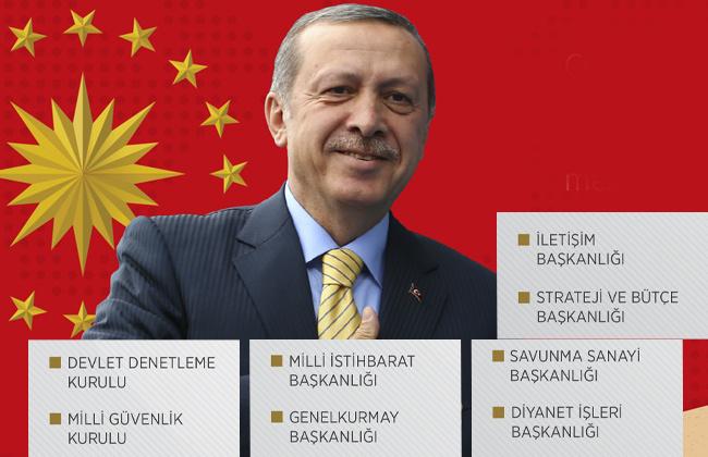 Cumhurbaşkanlığı Hükümet Sistemi - Yeni başkanlıklar MİT'in adı değişti