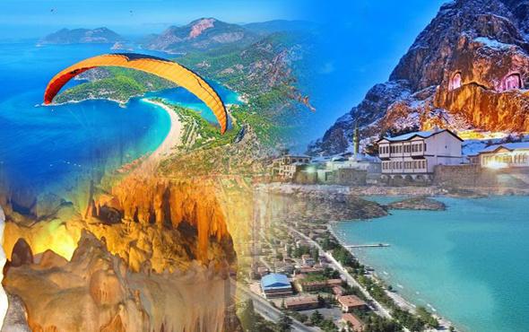 Türkiye'de mutlaka görülmesi gereken 50 yer! İşte tatil rotanız