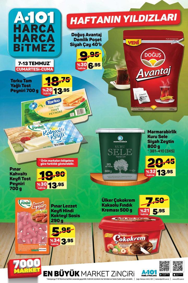 A101 12 Temmuz aktüel katalog yeni indirimli ürünler listesi  - Sayfa 3