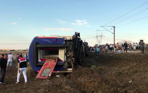 Tekirdağ çorluda Tren Devrildi Işte Ilk Fotoğraflar Internet Haber