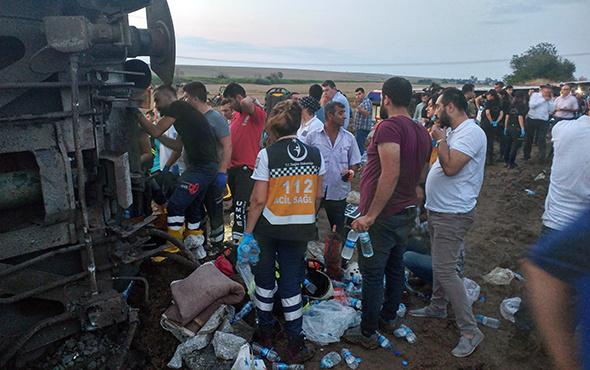 Kızılay Başkanı'ndan tren kazasıyla ilgili önemli uyarı!