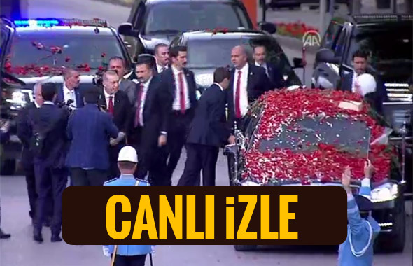Meclis TV canlı yayını AA Erdoğan'ın yemin törenini izleyin!