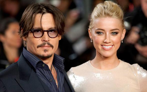 Johnny Depp'ten eski karısı Amber Heard'a olay suçlama!