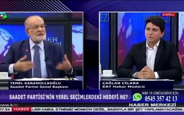 Saadet Partisi lideri Temel Karamollaoğlu'dan seçimle ilgili açıklamalar