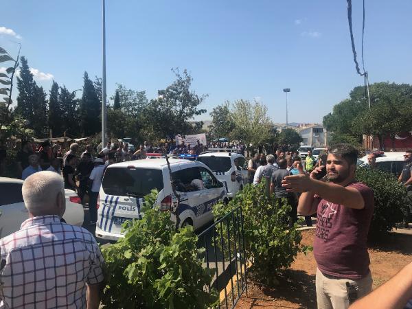 Tuzla karıştı: Polis biber gazıyla müdahale etti!