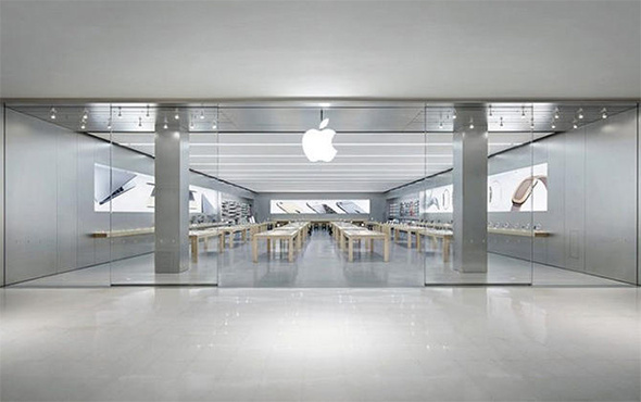Apple mağazasında tablet patladı: Yaralılar var!