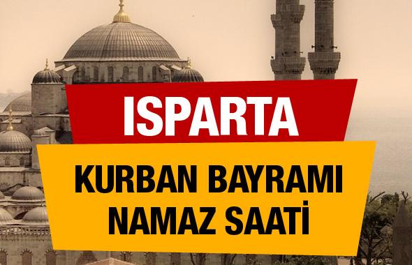 Isparta Kurban bayramı namaz saati : 06:58