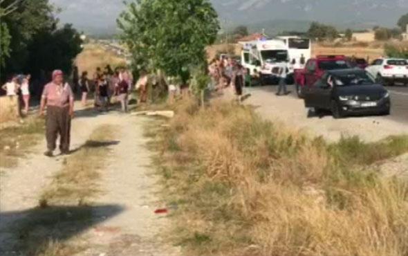 Muğla'da tur otobüsü devrildi! Çok sayıda yaralı var