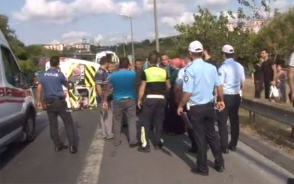İstanbul Etiler'de feci kaza  2'si ağır 8 kişi yaralandı