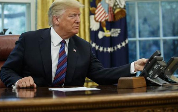 Trump o anlaşmayı dünyaya böyle duyurdu