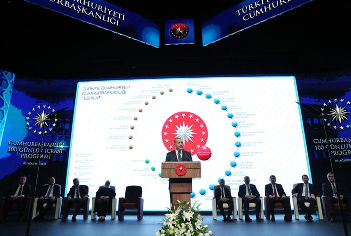 İşte Erdoğan Kabinesi'nin İlk 100 günlük icraat programı... - Sayfa 1
