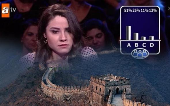 ATV'de 'Çin Seddi' sorusu rezil rüsva etti şöhret için mi!