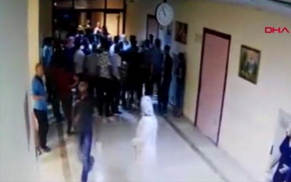 Diyarbakır'da acilde kavga yaralılar var polis müdahale ediyor