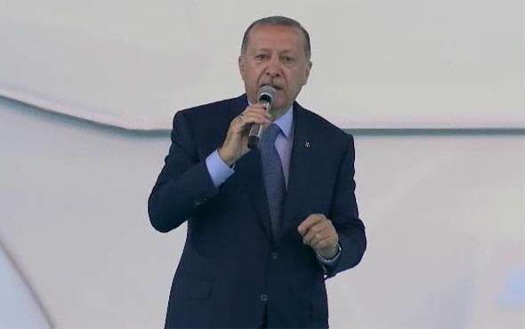 Erdoğan talimatı verdi ilk kazma vuruldu