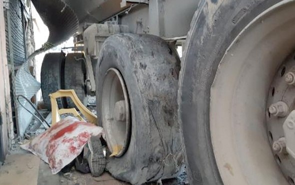 Başakşehir'de hafriyat kamyonu dehşet saçtı
