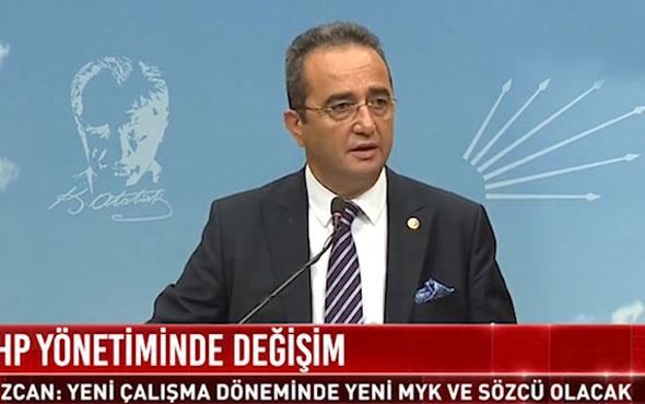 Bülent Tezcan açıkladı! CHP'de yönetim değişiyor