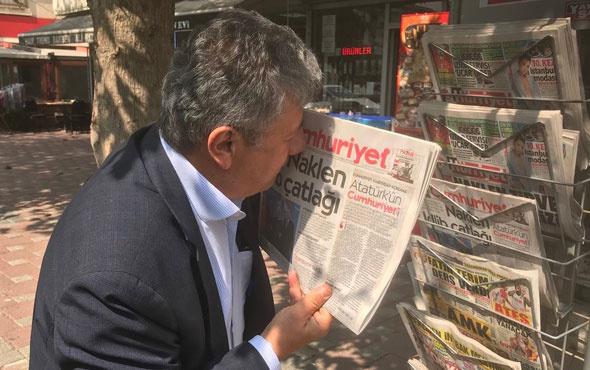Cumhuriyet gazetesinde istifalar ve işten atmalar sürüyor