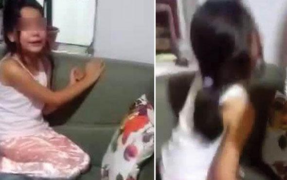 Anne ve babanın velayet sorunu minik kızı gözyaşlarına boğdu