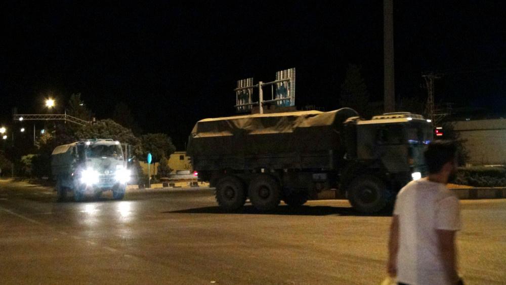 Kilis'e askeri sevkiyat sürüyor - Sayfa 1