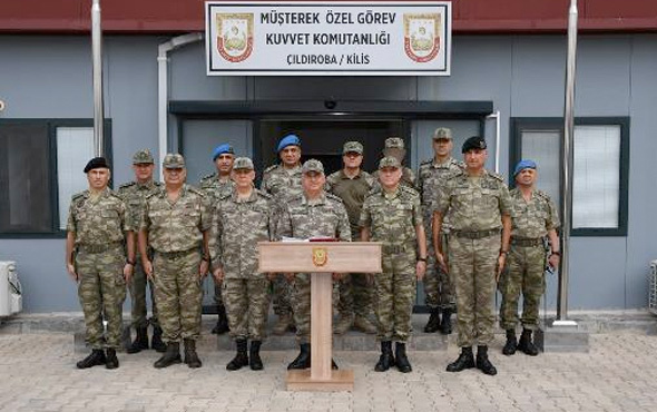 Güler ve Dündar'dan sınırdaki askeri birliklere ziyaret