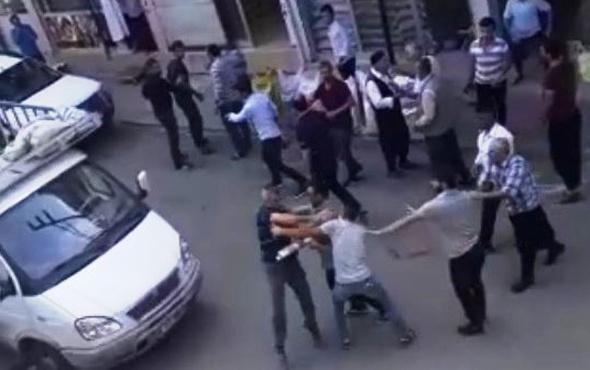 Siverek'te 1 kişinin öldüğü kavga kamerada