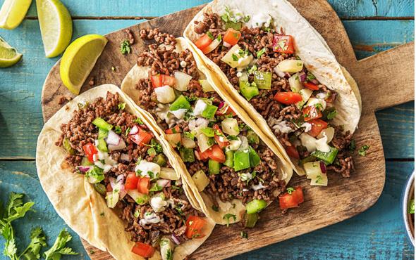 Tacos Meksika yemeği nasıl yapılır?
