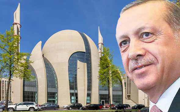 DİTİB'den flaş iddia! Erdoğan Köln'de cami açacak