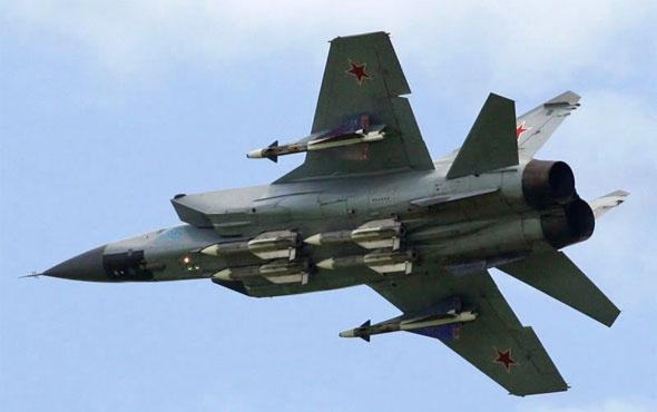 Rus savaş uçağı düştü son dakika geçtiler
