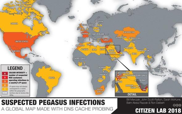 Whatsapp'la 36 ülkeyi sardı cep telefonuna sızan Pegasus neyin nesi?
