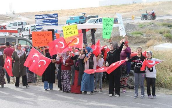 Akü geri dönüşüm tesisi köylüleri kızdırdı