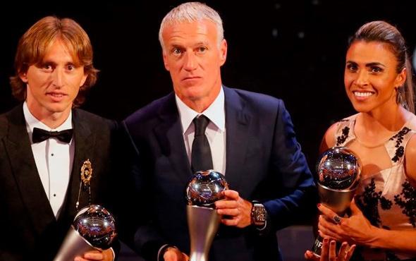 Futbolda yılın en iyileri belli oldu! İşte ödül alan isimler