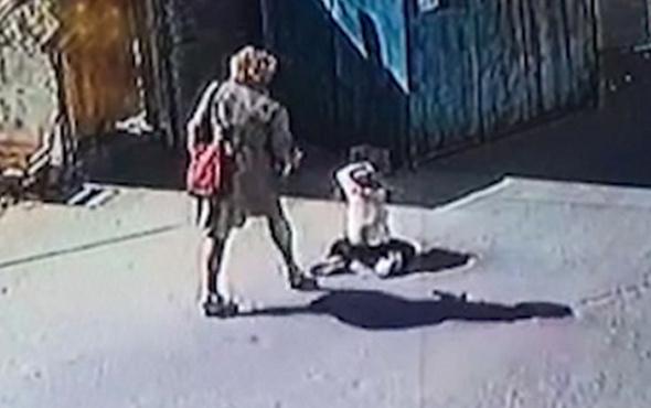 Çocuğuna sokak ortasında şiddet uygulamıştı flaş gelişme!