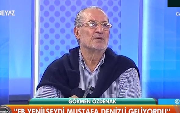 Gökmen Özdenak'tan olay iddia: Fenerbahçe yenilseydi Mustafa Denizli gelecekti