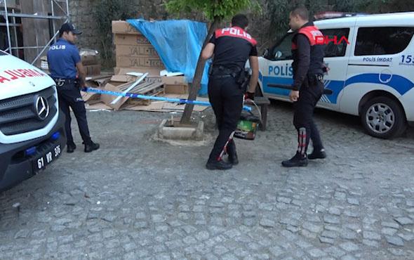 Dehşet evi! Silah sesine koştukları evde boğuşurken buldular