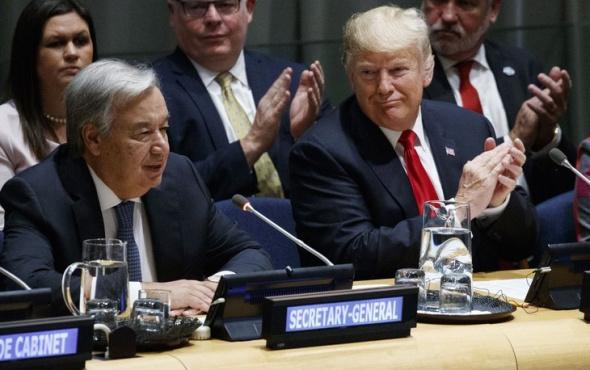 ABD Başkanı Trump, BM'de konuştu: 'İran'ı izole edelim'