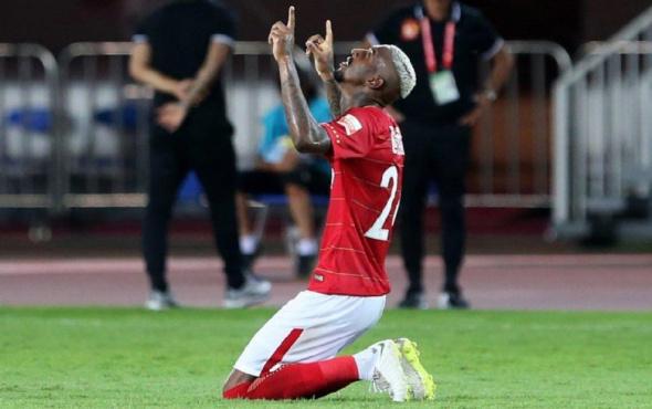 Çinliler Talisca'ya hayran kaldı! 12 maçta 14 gol atınca...