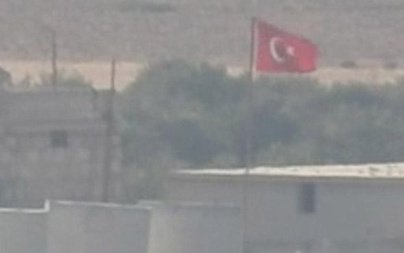 Halep'in batısındaki Türk üssü ilk kez görüntülendi
