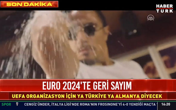 EURO 2024 tanıtımında Nusret'in işi ne?