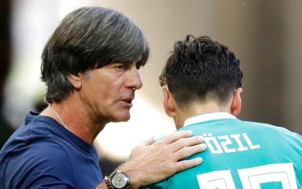 Löw'den Mesut Özil için sitem dolu sözler!