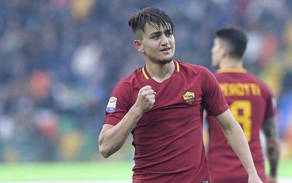 Totti ile De Rossi arasında dikkat çeken Cengiz Ünder diyaloğu